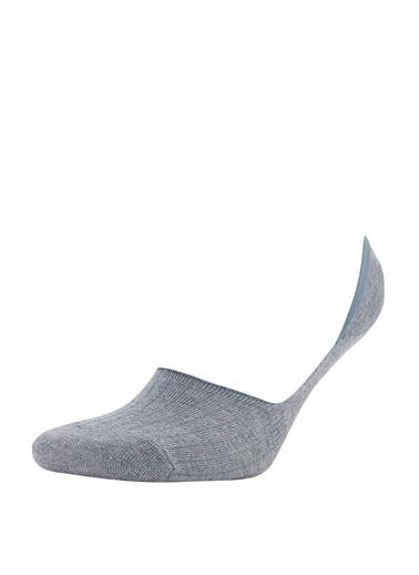 DeFacto Basic 3'lü Babet Çorabı Camel